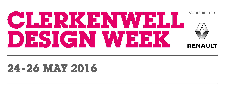Clerkenwell design week 2016 space international hotel for Hotel design 2016