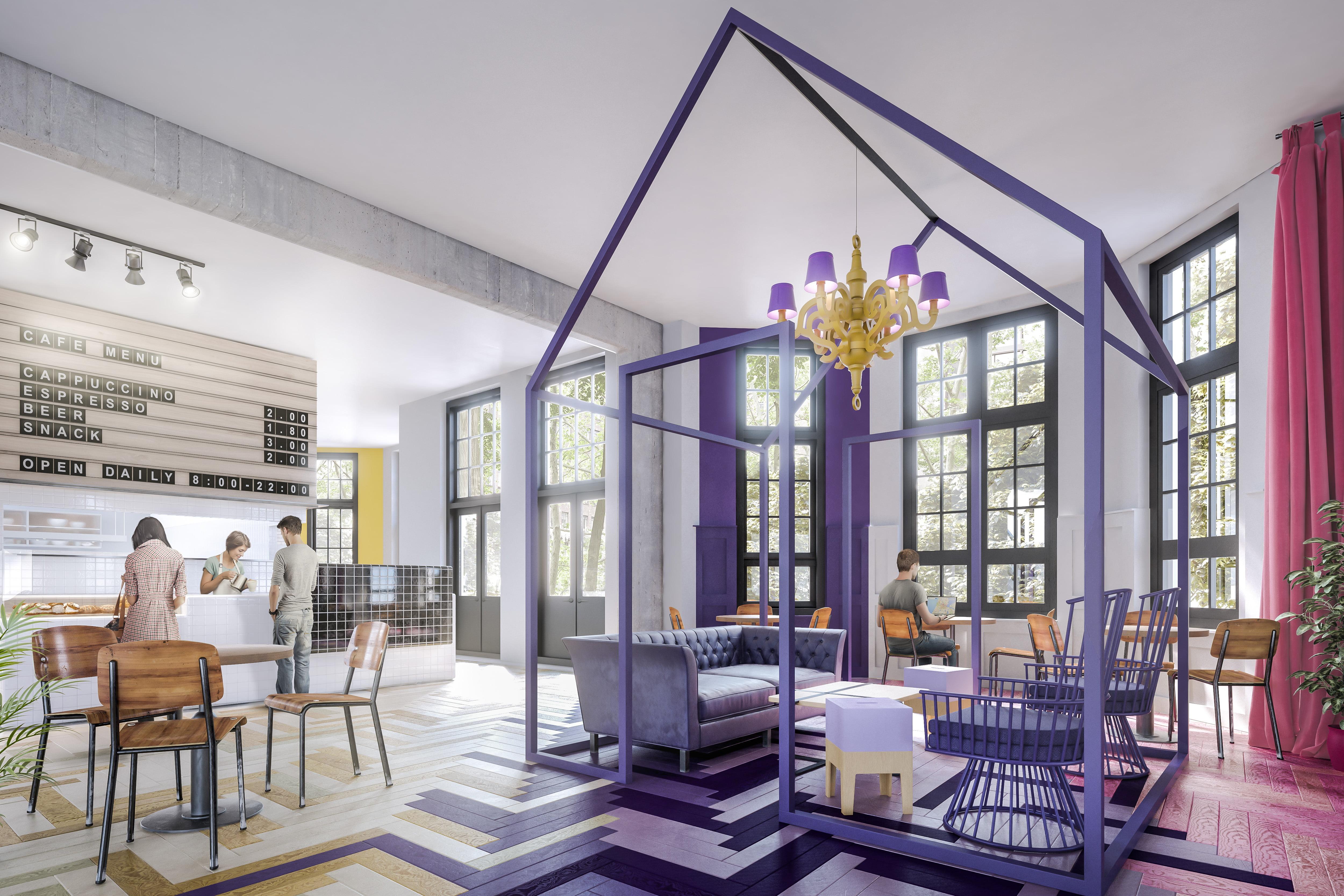 Design led generator hostels expands in europe space for Interior design online generator