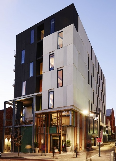 The alex hotel perth space international hotel design for Best boutique hotels perth
