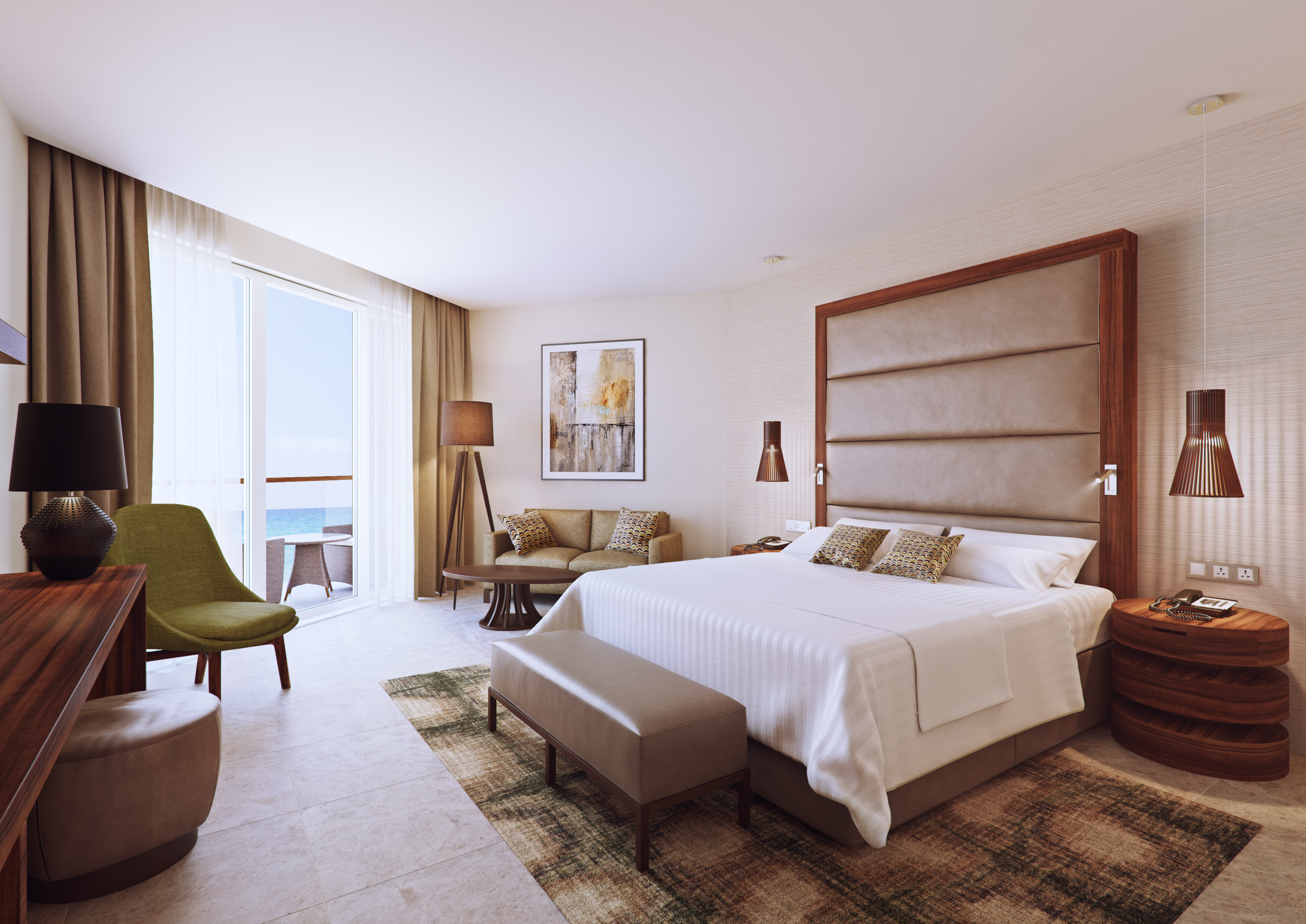 John duffy design group with g1 architects design marriott for Hotel design group