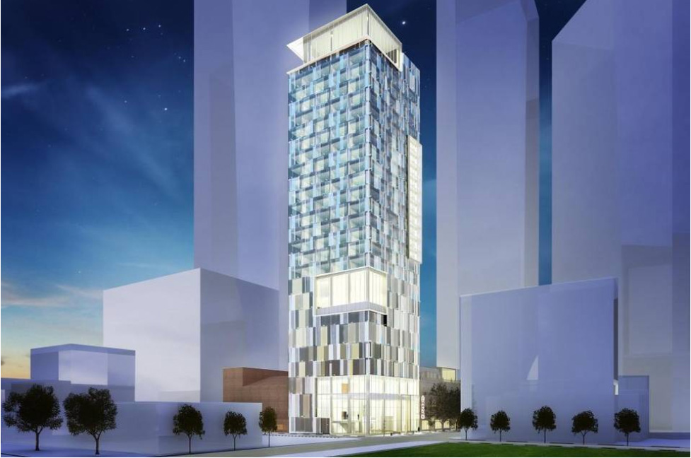 20 Story Intercontinental Hotel To Rise Atop Carolina