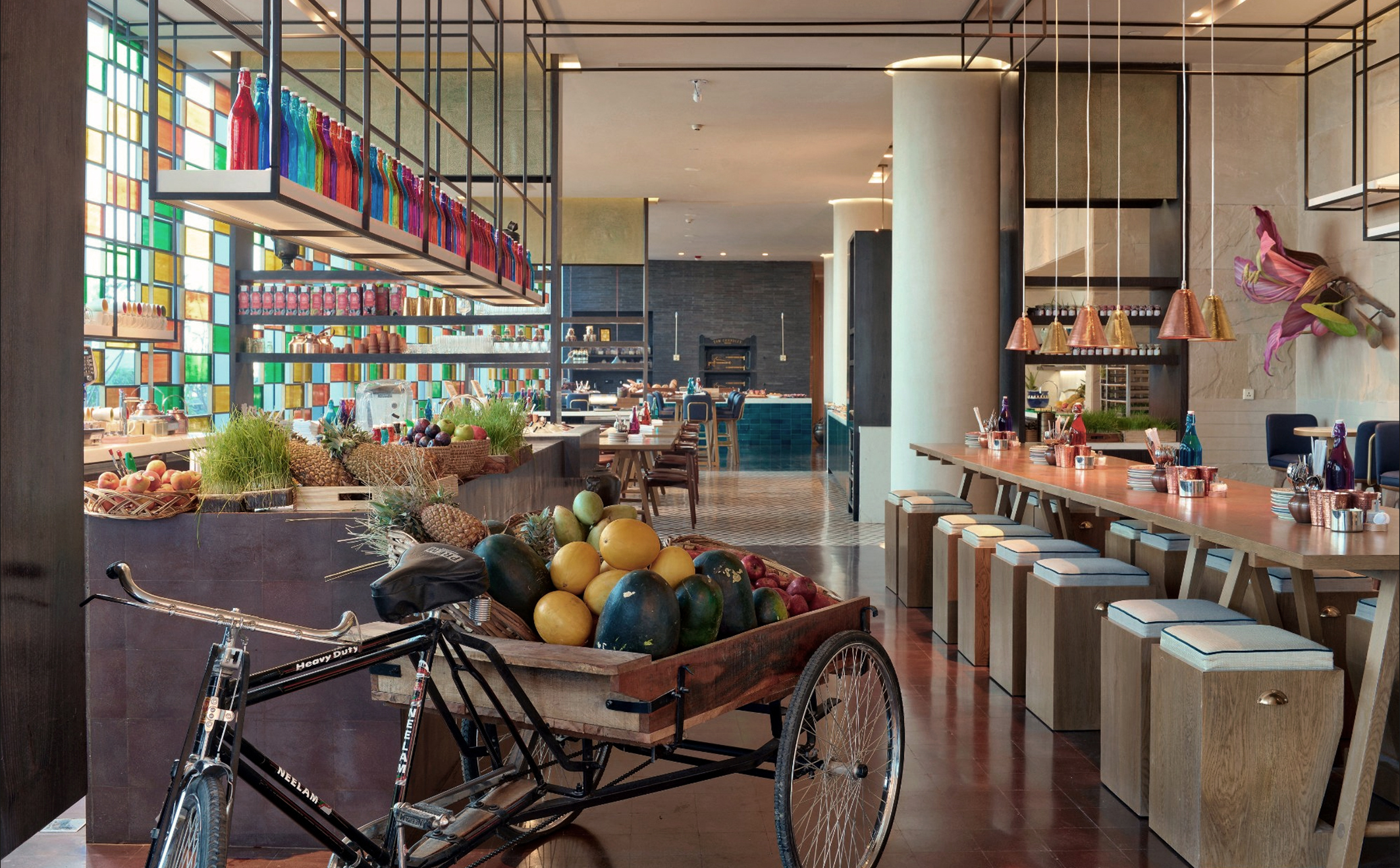 THE NEW ANDAZ HOTEL OPENS IN DELHI DESIGNED BY VIRGILE