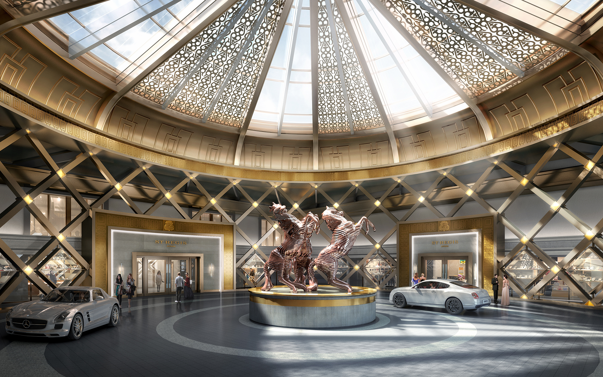 Watg And Wimberly Interiors Design The St Regis Astana