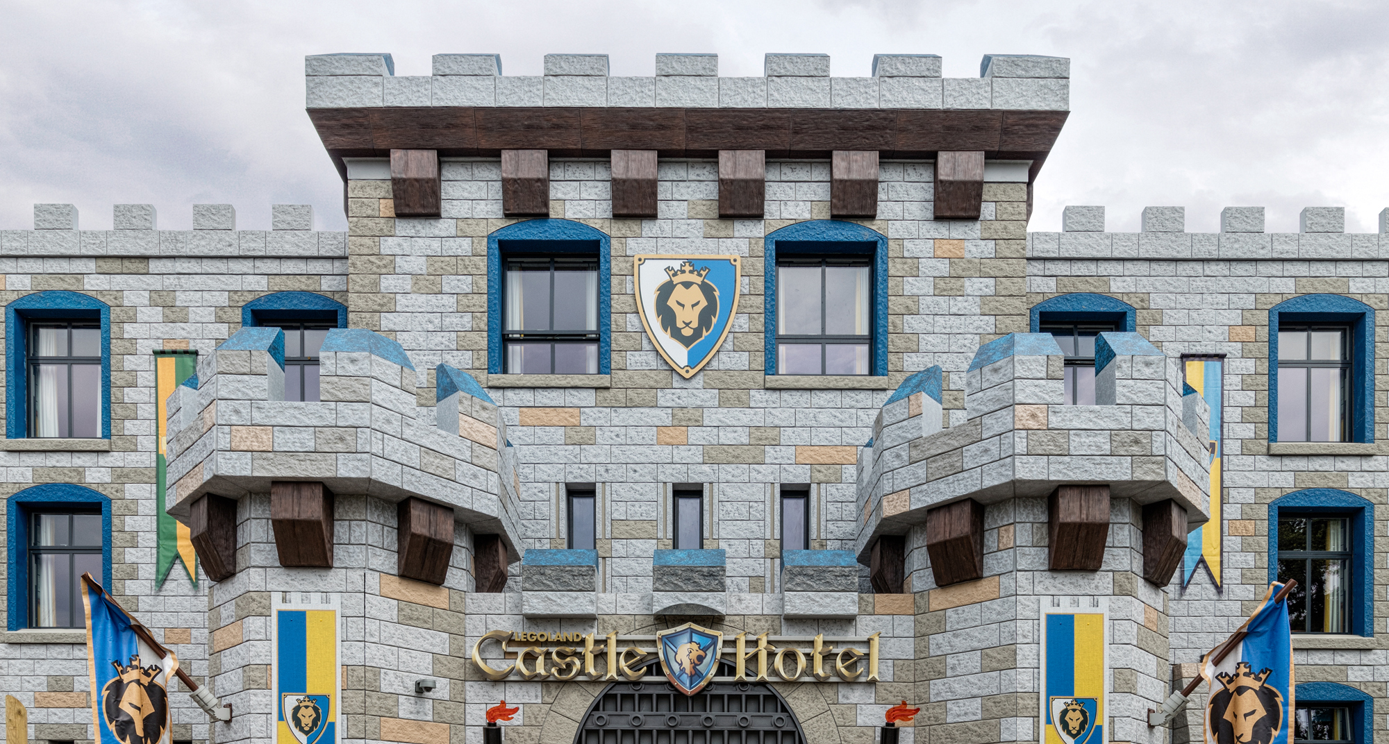 The Legoland Castle Hotel Is Complete Space