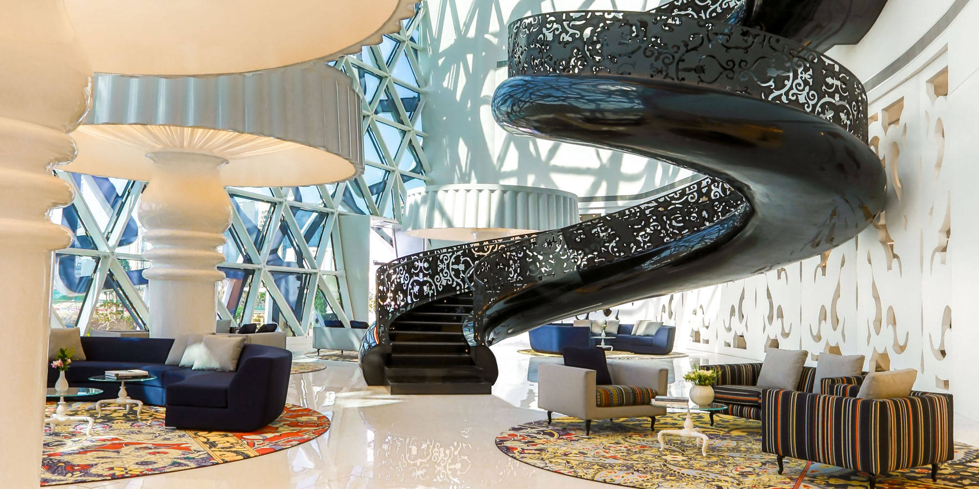 Mondrian Doha Qatar Space International Hotel Design