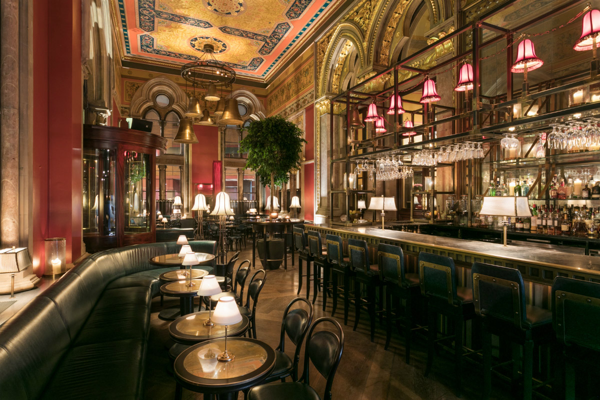 Marcus Wareing Launches George S Bar In Kings Cross