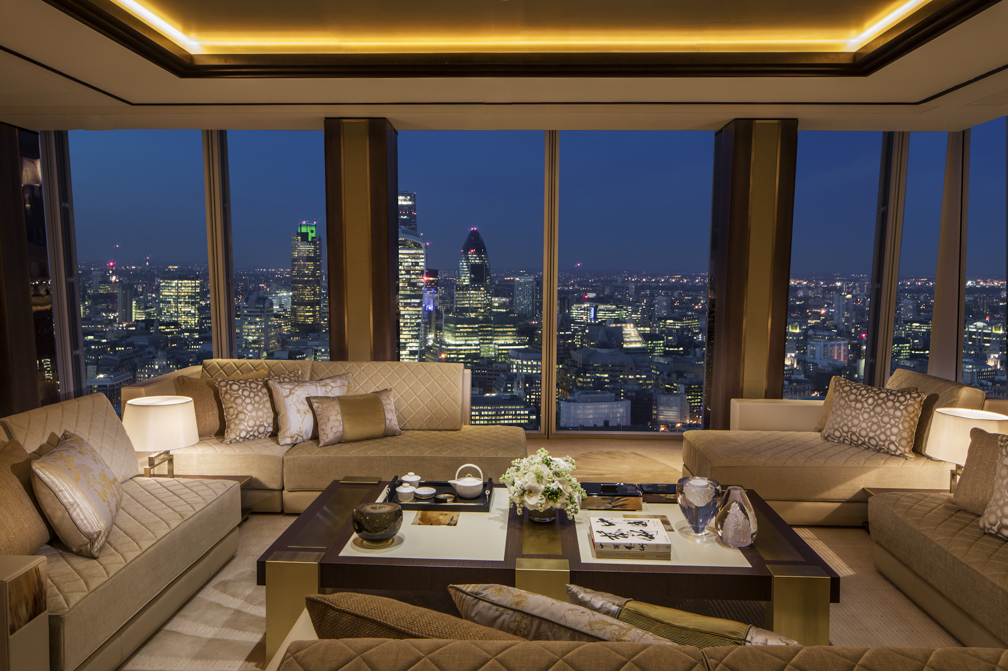 Shangri La Hotel At The Shard London Space