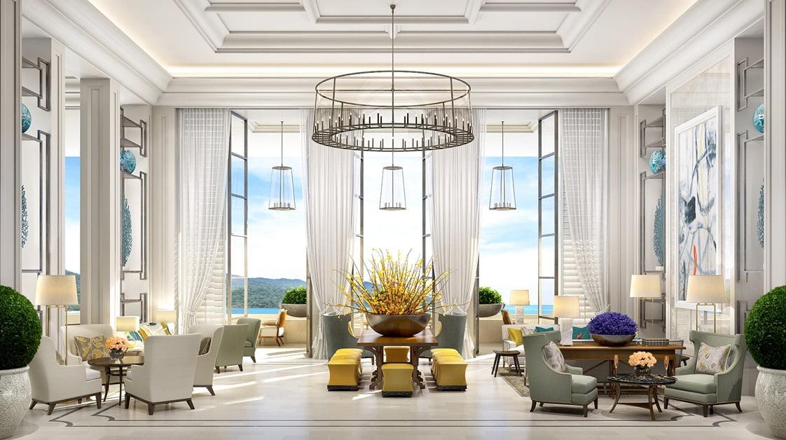 St regis langkawi lobby lounge space international for Uniform spa malaysia