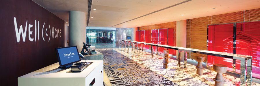 M Social Singapore Space International Hotel Design