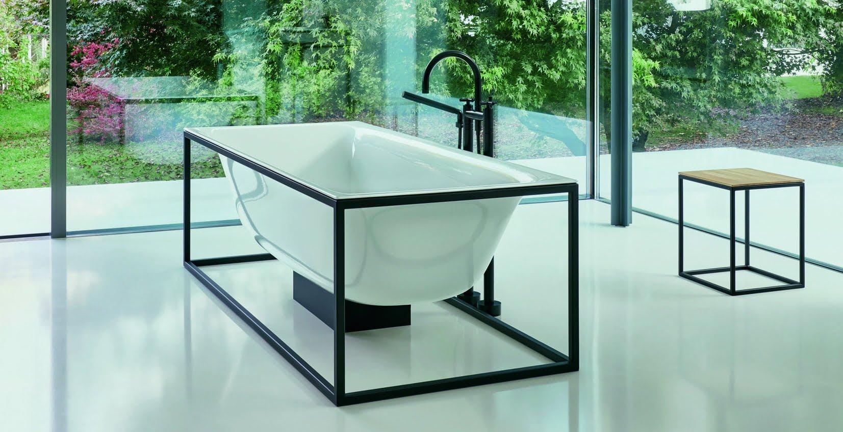 BetteLux Shape bath and stool - SPACE   International Hotel Design