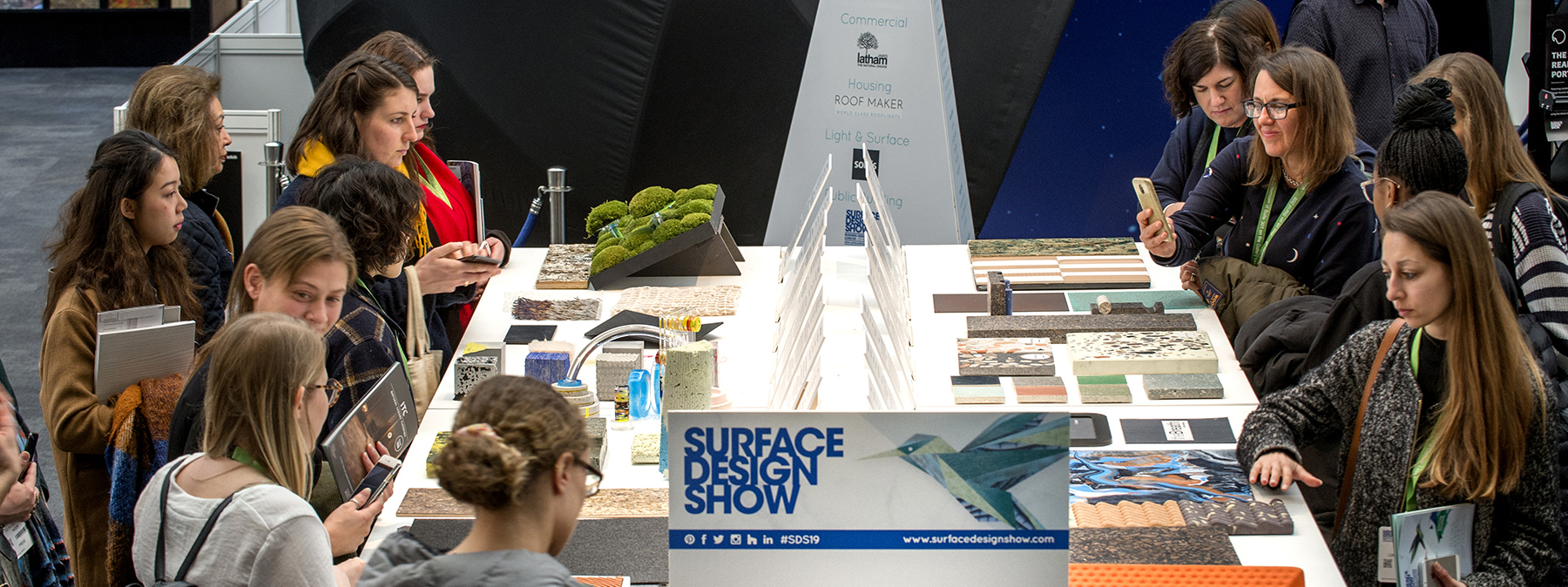 Surface design show 2019 0557 space international for International decor surfaces